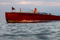 Wood Hacker Craft speedboat