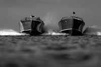 Black and White Pictures of Wood Boats